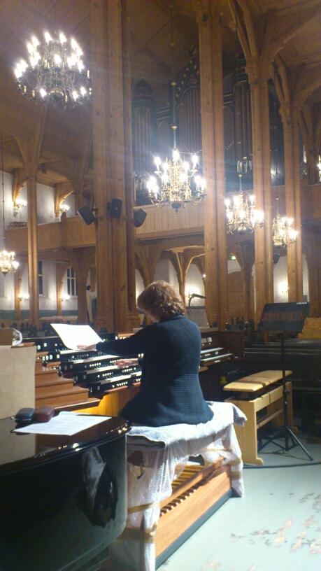 Det nye orgelet