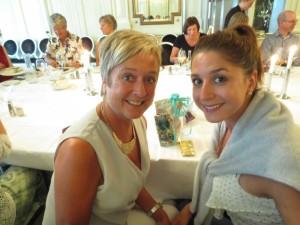 Bodil og Hanne Swatland er mor og datter. Begge synger altstemme i domkoret.