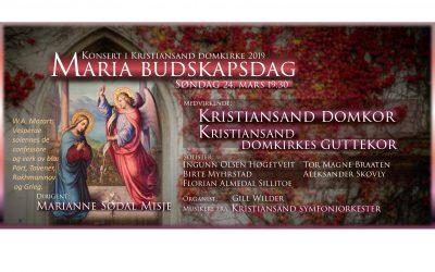Konsert på Maria budskapsdag